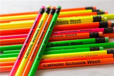 Special! - Pack of 100 Neon Pencils w/CSW logo
