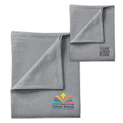 Sweatshirt Blanket w/ CSW or Your School Logo