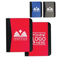 Letter Size Non-Woven Padfolio w/ CSW or YSL