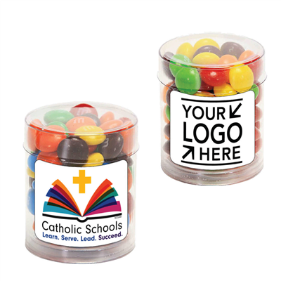 Small Candy Fun Tube w/ CSW or Your School Logo