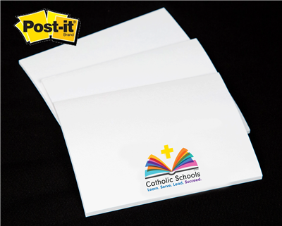 Post-it Custom Printed Notepad w/ CSW Logo