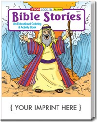 Bible Story Coloring & Activity Book (250pk)