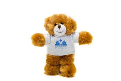 Soft Plush Stuffed Teddy Bear With Catholic School