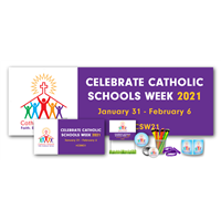 Catholic Schools Week Deluxe Promotional Kit