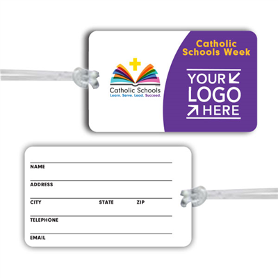 Luggage Tag w/ CSW and Your School Logo