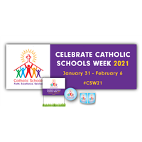 Catholic Schools Week Basic Signage Kit