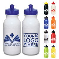 21 oz. Bike Bottle w/ CSW or Your School Logo