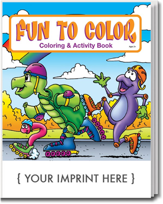 Fun To Color Coloring and Activity Book