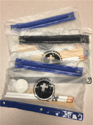 Deluxe School Kit With Pencil Pouch w/CSW Old Logo