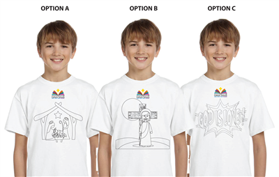 Color Your Own T-Shirt