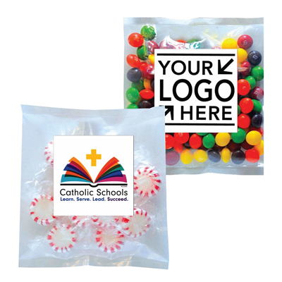 Medium Candy Label Pack w/ CSW or Your School Logo