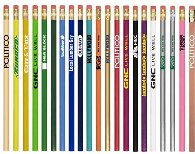Standard Color Wood Pencils w/ CSW or YS Name